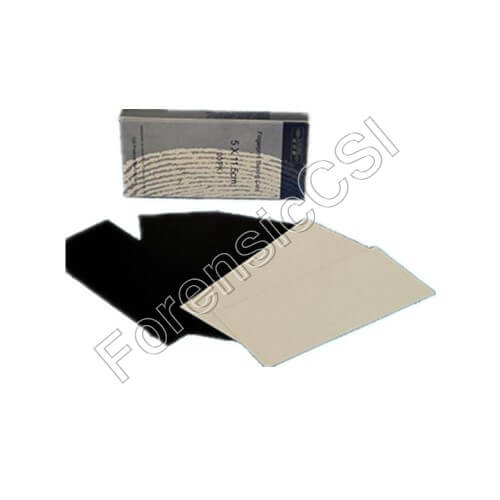 Backing Card PVC 50x115mm