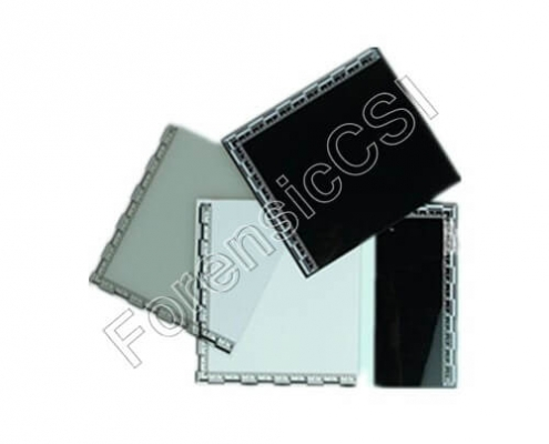 Backing Card With Scale PVC 50x115mm