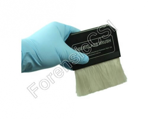 Fiber Glass Fingerprint Brush Flat