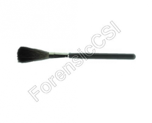 Flat Squirrel Fingerprint Brush 180x48x12mm