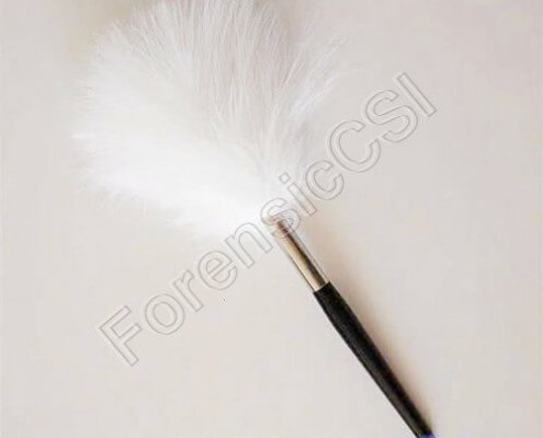 Marabou Feather Fingerprint Brush
