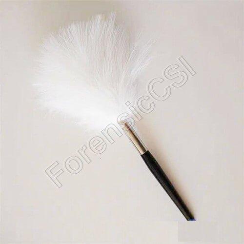 Marabou Feather Fingerprint Brush