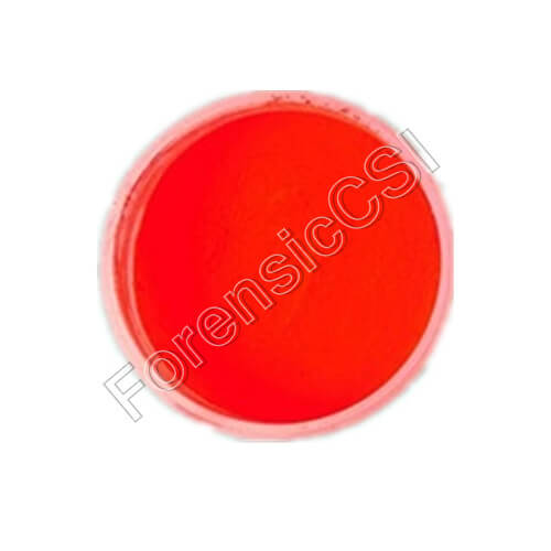 Red Fluorescent Latent Print Powder
