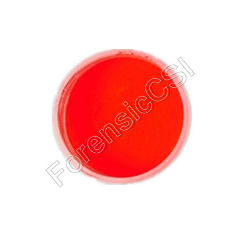 Red Fluorescent Magnetic Latent Print Powder