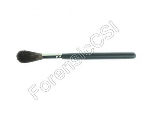Round Squirrel Fingerprint Brush 155x33x8mm