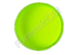 Yellow Fluorescent Latent Print Powder