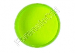Yellow Fluorescent Magnetic Latent Print Powder