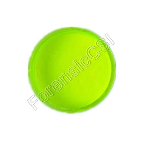 Yellow Fluorescent Magnetic Latent Print Powder
