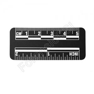 Black Magnetic Photo Ruler 5cm 2 inch