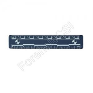 Blue Magnetic Photo Ruler 15cm 6 inch