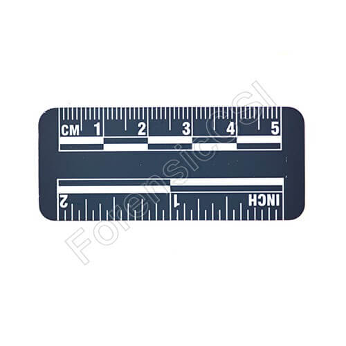 Blue Magnetic Photo Ruler 5cm 2 inch