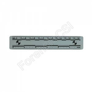 Gray Magnetic Photo Ruler 15cm 6 inch
