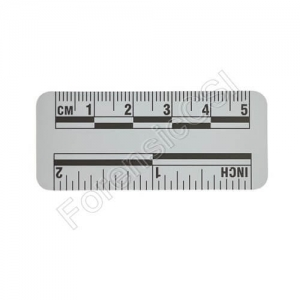 Gray Magnetic Photo Ruler 5cm 2 inch