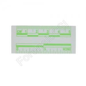 Green Fluorescent Photo Ruler 5cm 2 inch