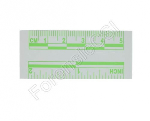 Green Fluorescent Ruler 5cm 2 inch