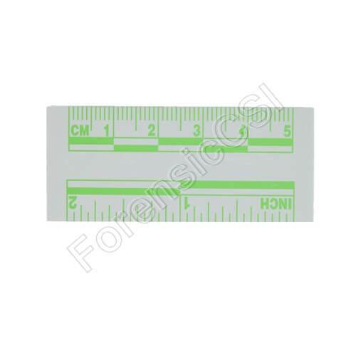 Green Fluorescent Ruler 5cm 2 inch