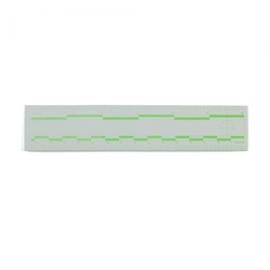Green Fluorescent Rulers 15cm 6 inch
