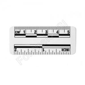 Wihte Magnetic Photo Ruler 5cm 2 inch