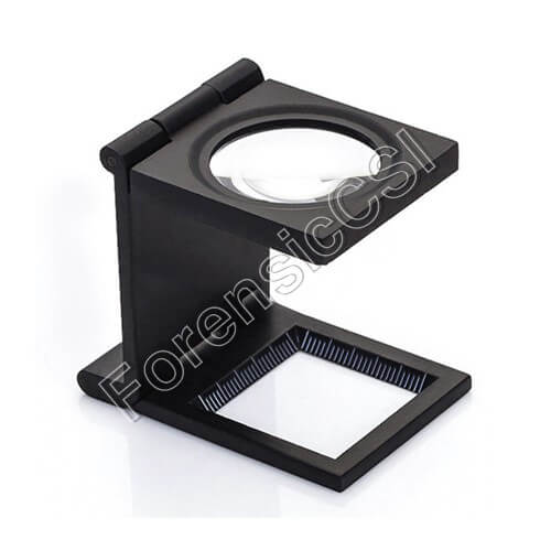 Fingerprint Magnifier 10x Amplification with LED