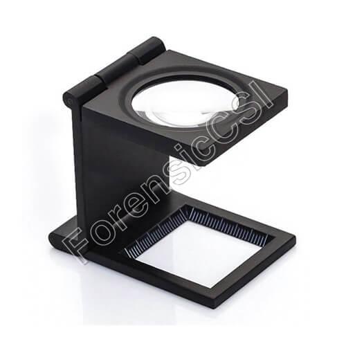Fingerprint Magnifier 10x Amplification with LED
