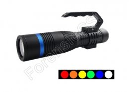 Portable Multi band Forensic Flashlight