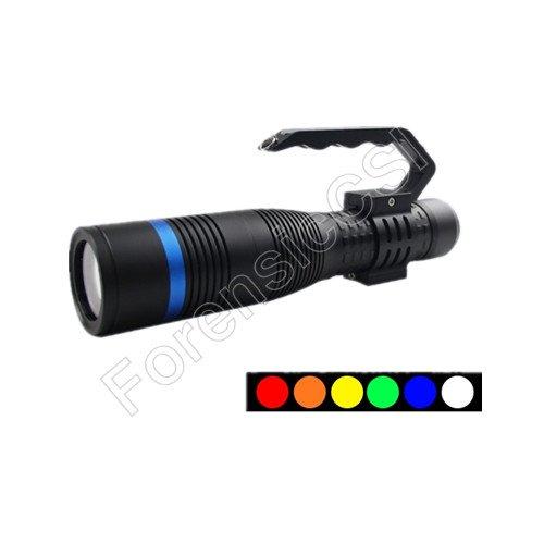 Portable Multi band Forensic Flashlight