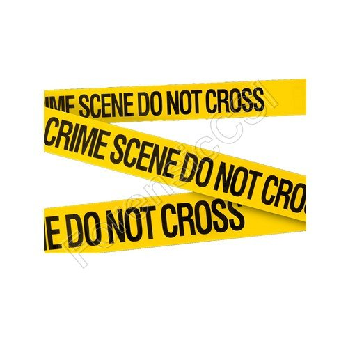 Crime Scene Barrier Tape