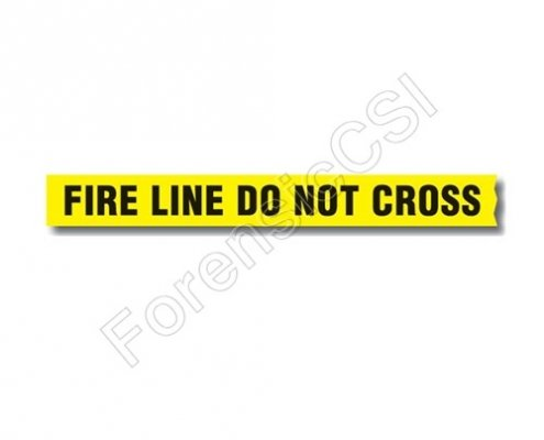 Fire Line Do Not Cross Barrier Tape