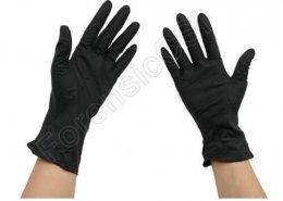 Forensic Black Nitrile Gloves