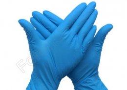 Forensic Blue Nitrile Gloves