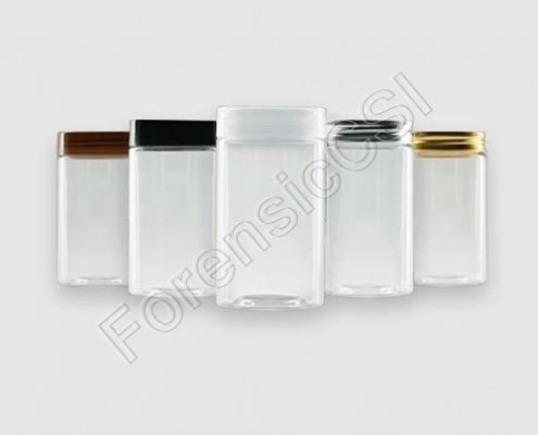 Glass Evidence Collection Jars