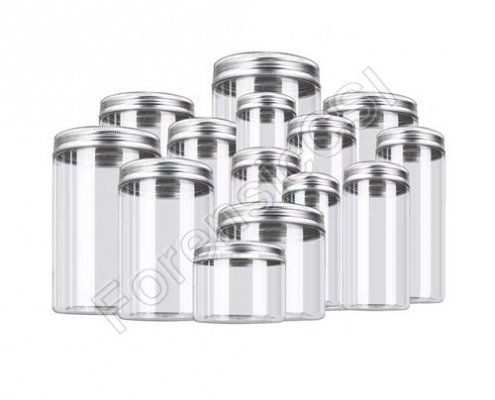 PET Evidence Collection Jars