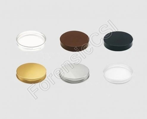 PET Evidence Collection Jars Cap
