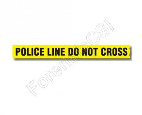 Police Line Do Not Cross Barrier Tape