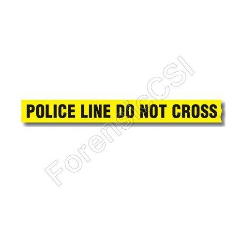 Police Line Do Not Cross Barrier Tape