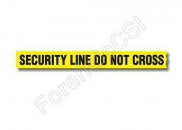 Security Line Do Not Cross Barrier Tape