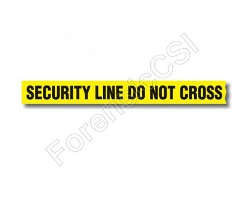 Security Line Do Not Cross Barrier Tape