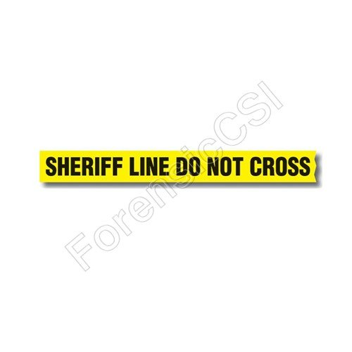 Sheriff Line Do Not Cross Barrier Tape