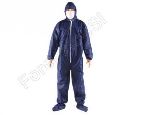 forensic coverall dark blue china
