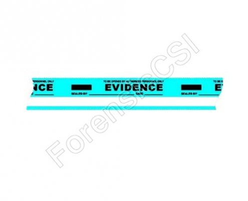 Evidence Tape Blue White