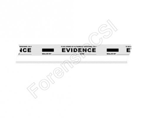 Evidence Tape Clear White