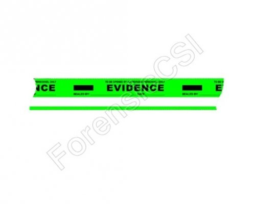 Evidence Tape Green White