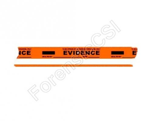 Evidence Tape Orange White