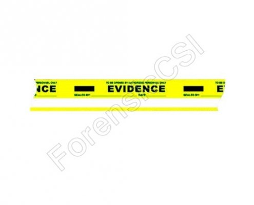 Evidence Tape Yellow White