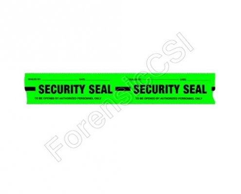 Security Tape Green