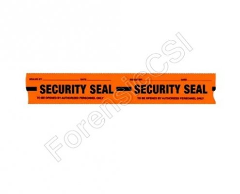 Security Tape Orange