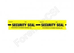 Security Tape Yellow
