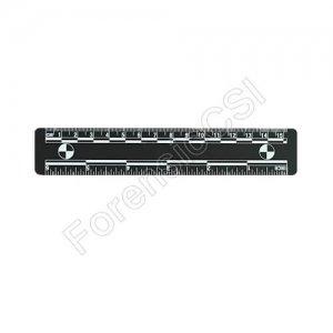 Black Photo Ruler 15cm 6 inch