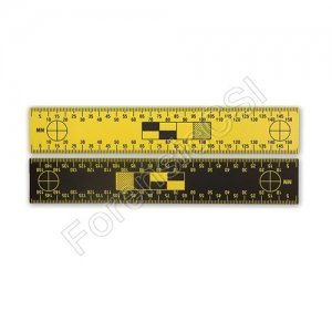 Black Yellow Reversible Scale 150mm
