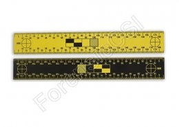 Black Yellow Reversible Scale 180mm